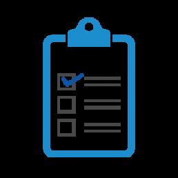one solution icon checklist